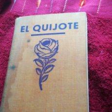 Livros em segunda mão: EL INGENIOSO HIDALGO DON QUIJOTE DE LA MANCHA MIGUEL DE CERVANTES EDITORIAL ROSALES 1933 ILUSTRACION. Lote 201201047