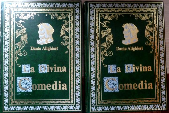 LA DIVINA COMEDIA - 2 TOMOS - DANTE ALIGHIERI - ED.JOVER 1991 - ILUSTRADA POR GUSTAVO DORÉ (Libros de Segunda Mano (posteriores a 1936) - Literatura - Narrativa - Clásicos)