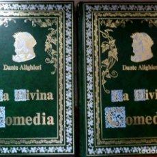 Libros de segunda mano: LA DIVINA COMEDIA - 2 TOMOS - DANTE ALIGHIERI - ED.JOVER 1991 - ILUSTRADA POR GUSTAVO DORÉ. Lote 201668391