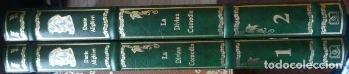 Libros de segunda mano: LA DIVINA COMEDIA - 2 TOMOS - DANTE ALIGHIERI - ED.JOVER 1991 - ILUSTRADA POR GUSTAVO DORÉ - Foto 2 - 201668391