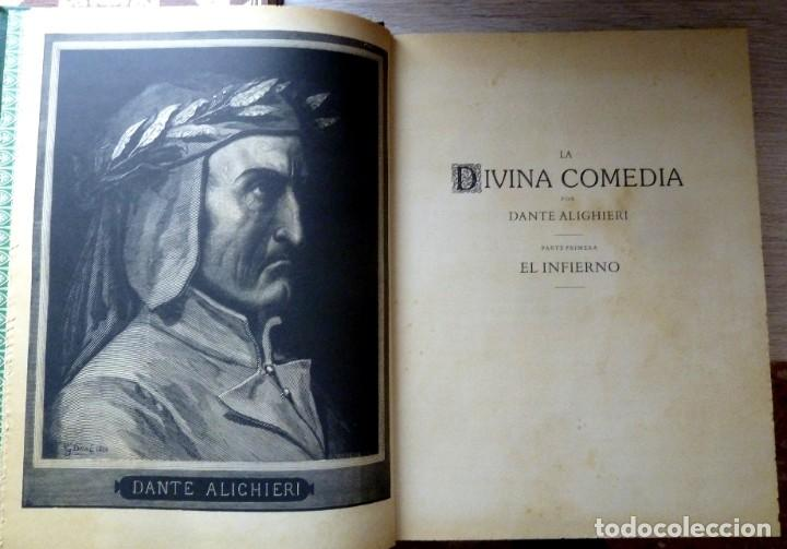 Libros de segunda mano: LA DIVINA COMEDIA - 2 TOMOS - DANTE ALIGHIERI - ED.JOVER 1991 - ILUSTRADA POR GUSTAVO DORÉ - Foto 4 - 201668391