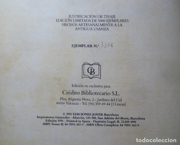 Libros de segunda mano: LA DIVINA COMEDIA - 2 TOMOS - DANTE ALIGHIERI - ED.JOVER 1991 - ILUSTRADA POR GUSTAVO DORÉ - Foto 5 - 201668391