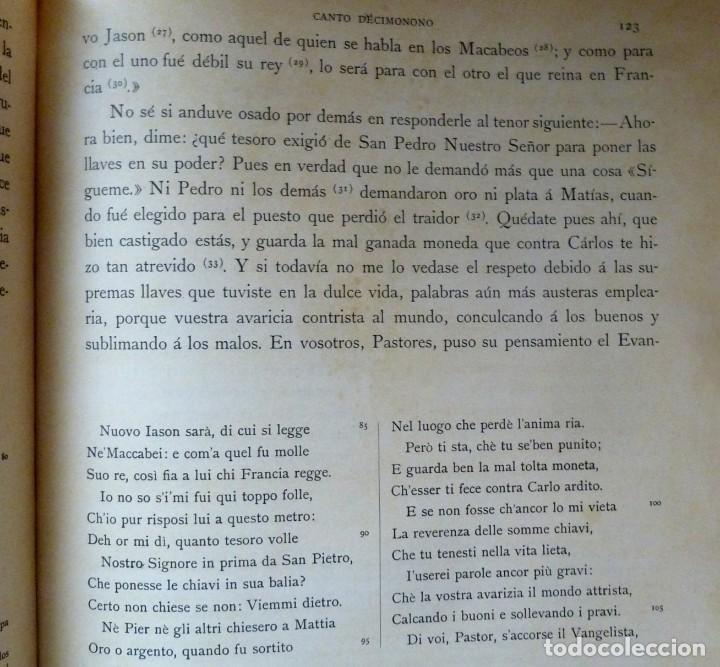 Libros de segunda mano: LA DIVINA COMEDIA - 2 TOMOS - DANTE ALIGHIERI - ED.JOVER 1991 - ILUSTRADA POR GUSTAVO DORÉ - Foto 8 - 201668391
