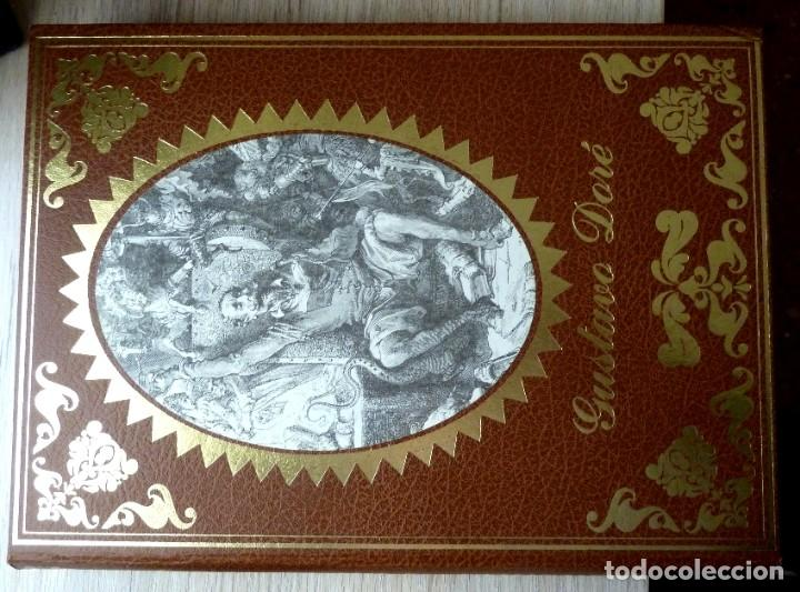 Libros de segunda mano: DON QUIJOTE DE LA MANCHA - 2 TOMOS + TOMO DE LAMINAS DE GUSTAVO DORE - Foto 3 - 201671267