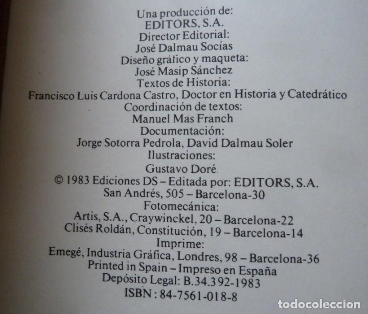 Libros de segunda mano: DON QUIJOTE DE LA MANCHA - 2 TOMOS + TOMO DE LAMINAS DE GUSTAVO DORE - Foto 6 - 201671267