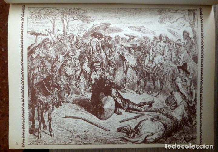 Libros de segunda mano: DON QUIJOTE DE LA MANCHA - 2 TOMOS + TOMO DE LAMINAS DE GUSTAVO DORE - Foto 11 - 201671267