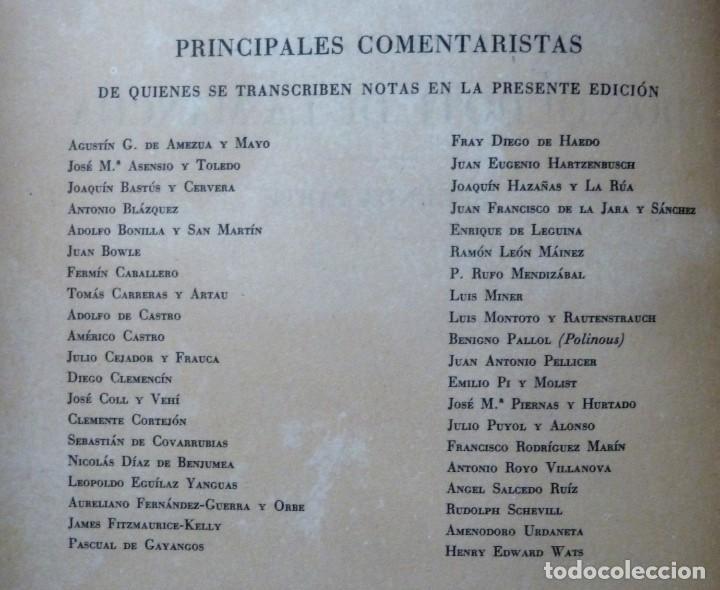 Libros de segunda mano: DON QUIJOTE DE LA MANCHA - 2 TOMOS + TOMO DE LAMINAS DE GUSTAVO DORE - Foto 7 - 201671267