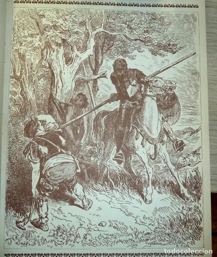 Libros de segunda mano: DON QUIJOTE DE LA MANCHA - 2 TOMOS + TOMO DE LAMINAS DE GUSTAVO DORE - Foto 12 - 201671267