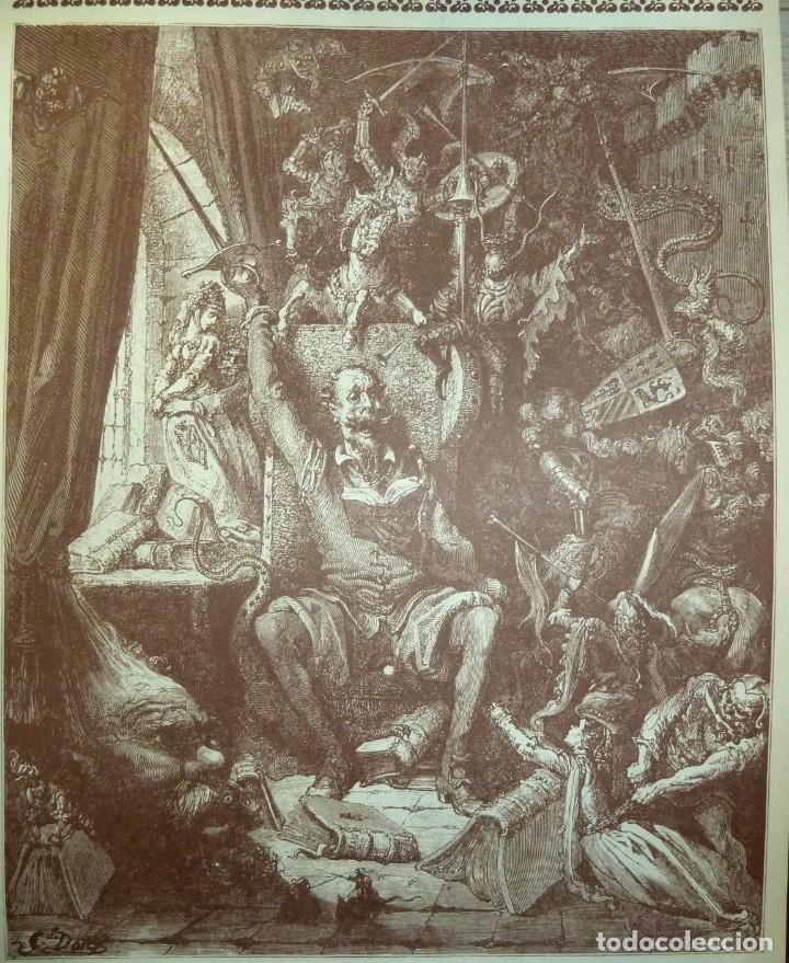 Libros de segunda mano: DON QUIJOTE DE LA MANCHA - 2 TOMOS + TOMO DE LAMINAS DE GUSTAVO DORE - Foto 13 - 201671267