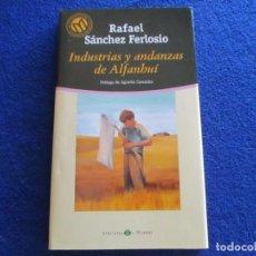 Libros de segunda mano: INDUSTRIAS Y ANDANZAS DE ALFANHUÍ RAFAEL SANCHEZ FERLOSIO ED. BIBLIOTECA EL MUNDO 2001. Lote 201915387