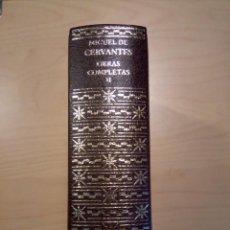 Livres d'occasion: MIGUEL DE CERVANTES OBRAS COMPLETAS -TOMO II. AGUILAR. Lote 201923118