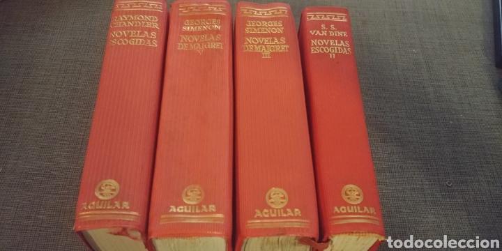 LOTE DE TOMOS AGUILAR PORTADAS PLASTICO ROJO (Libros de Segunda Mano (posteriores a 1936) - Literatura - Narrativa - Clásicos)