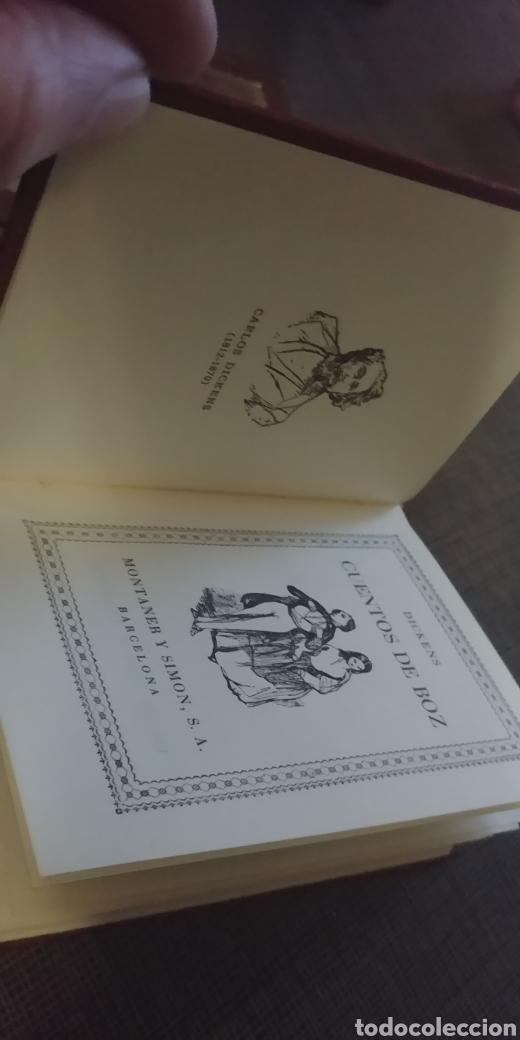 Libros de segunda mano: DICKENS CUENTOS DE BOZ MONTANER Y SIMON TAMAÑO BOLSILLO ILUSTRADO 1969 - Foto 3 - 201940702