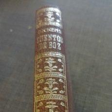 Libros de segunda mano: DICKENS CUENTOS DE BOZ MONTANER Y SIMON TAMAÑO BOLSILLO ILUSTRADO 1969. Lote 201940702