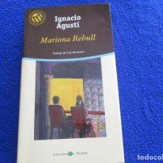Libros de segunda mano: MARIONA REBULL IGNACIO AGUSTÍ ED. BIBLIOTECA EL MUNDO 2001. Lote 202397112