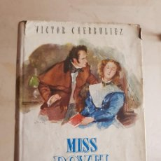 "Libros de segunda mano: VICTOR CHERBULIEZ: ""MISS ROVEL"" (1945). Lote 203558102"