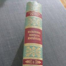 Libros de segunda mano: CLÁSICOS EXITO N° 8 . ESCRITORES MISTICOS ESPAÑOLES. Lote 204147992
