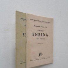 Libros de segunda mano: VIRGILIO - ENEIDA, TEXTO LATINO. Lote 204196650