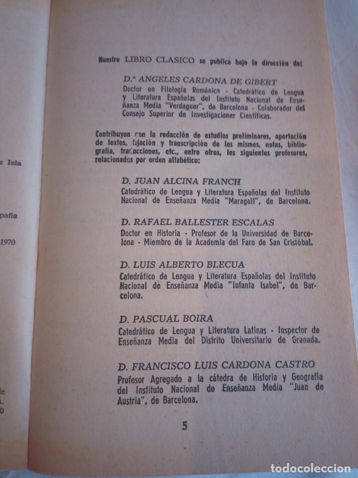 Libros de segunda mano: 10-HISTORIA DE GIL BLAS DE SANTILLANA, Alain Rene Le Sage, 1970 - Foto 5 - 204407071