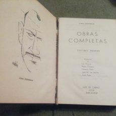 Libros de segunda mano: JOHN STEINBECK. OBRAS COMPLETAS.. Lote 204691215