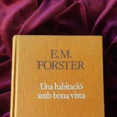 Libros de segunda mano: UNA HABITACIÓ AMB BONA VISTA - E.M. FORSTER - PROA - A TOT VENT 1986. Lote 205140942