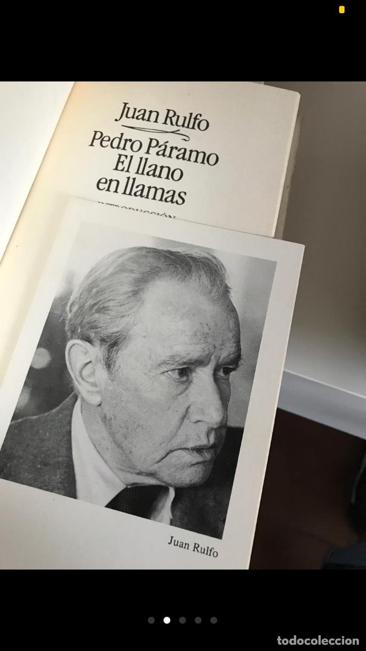 Libros de segunda mano: JUAN RULFO: Pedro Páramo: El Llano en llamas - Foto 2 - 205260502