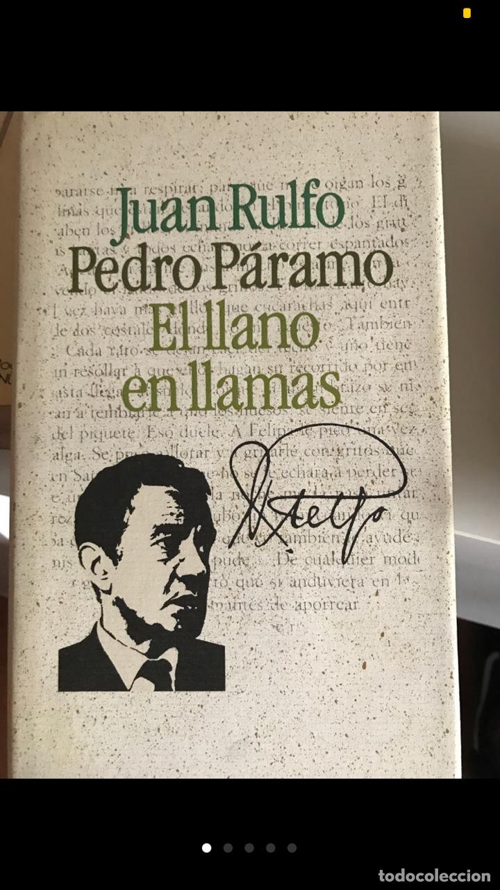 JUAN RULFO: PEDRO PÁRAMO: EL LLANO EN LLAMAS (Libros de Segunda Mano (posteriores a 1936) - Literatura - Narrativa - Clásicos)