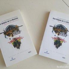 Libros de segunda mano: EL INGENIOSO HIDALGO DON QUIJOTE DE LA MANCHA,CERVANTES, 2 TOMOS. EDC.IV CENTENARIO.ABC. Lote 205319505