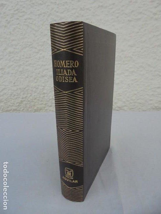 HOMERO. ILIADA. ODISEA. EDITORIAL AGUILAR. 1970. VER FOTOGRAFIAS ADJUNTAS (Libros de Segunda Mano (posteriores a 1936) - Literatura - Narrativa - Clásicos)