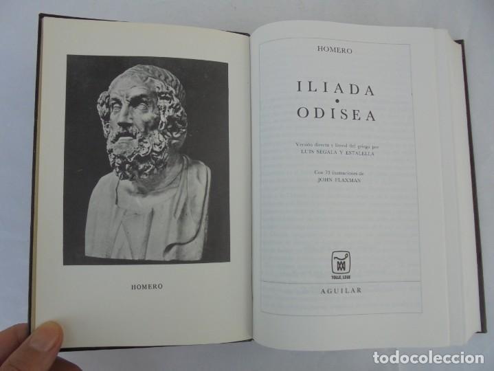 Libros de segunda mano: HOMERO. ILIADA. ODISEA. EDITORIAL AGUILAR. 1970. VER FOTOGRAFIAS ADJUNTAS - Foto 7 - 205706260