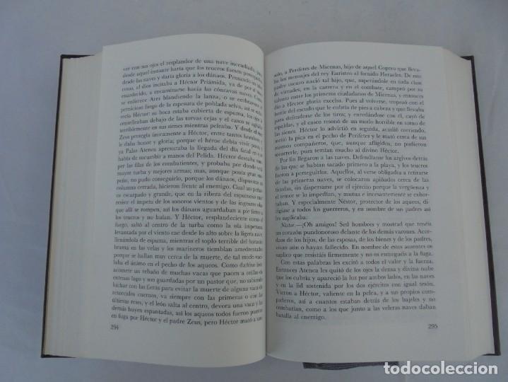 Libros de segunda mano: HOMERO. ILIADA. ODISEA. EDITORIAL AGUILAR. 1970. VER FOTOGRAFIAS ADJUNTAS - Foto 11 - 205706260