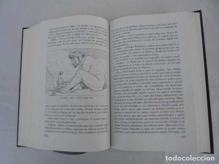 Libros de segunda mano: HOMERO. ILIADA. ODISEA. EDITORIAL AGUILAR. 1970. VER FOTOGRAFIAS ADJUNTAS - Foto 13 - 205706260