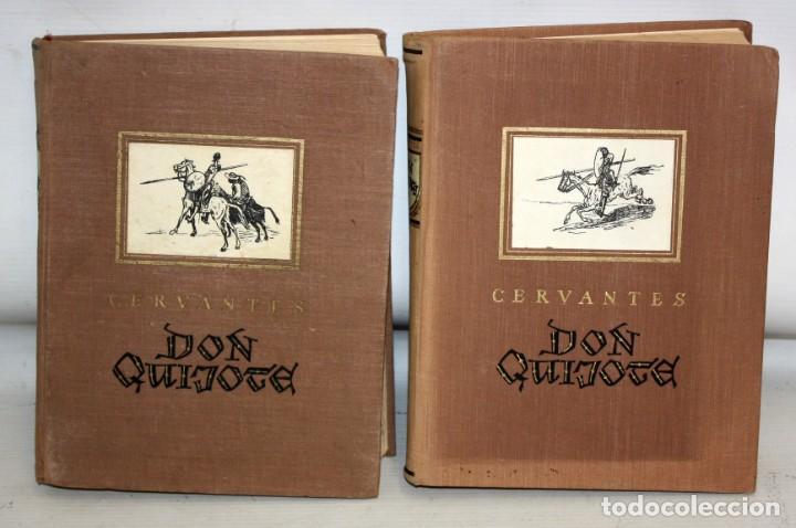 Libros de segunda mano: DON QUIJOTE DE LA MANCHA. ILUSTRADO POR G. DORÉ. PUBLICACIÓN NACIONAL ESTONIANA (1955). 2 VOLUMENES - Foto 3 - 205881788