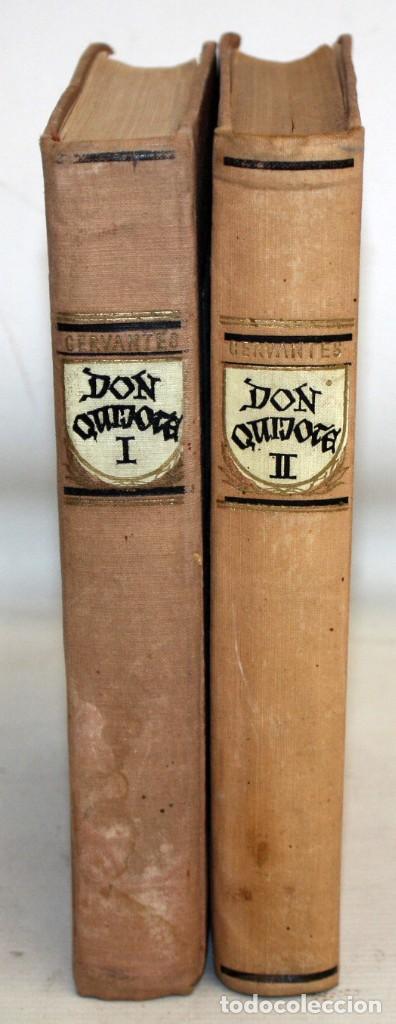Libros de segunda mano: DON QUIJOTE DE LA MANCHA. ILUSTRADO POR G. DORÉ. PUBLICACIÓN NACIONAL ESTONIANA (1955). 2 VOLUMENES - Foto 4 - 205881788