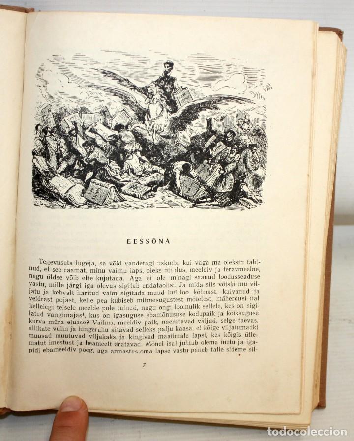 Libros de segunda mano: DON QUIJOTE DE LA MANCHA. ILUSTRADO POR G. DORÉ. PUBLICACIÓN NACIONAL ESTONIANA (1955). 2 VOLUMENES - Foto 5 - 205881788