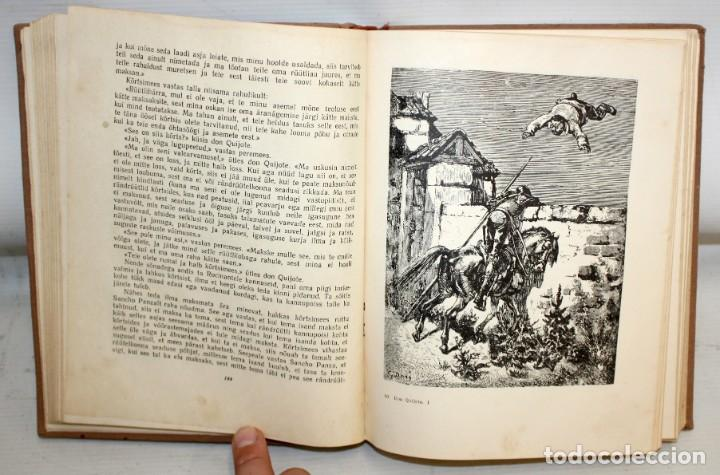 Libros de segunda mano: DON QUIJOTE DE LA MANCHA. ILUSTRADO POR G. DORÉ. PUBLICACIÓN NACIONAL ESTONIANA (1955). 2 VOLUMENES - Foto 6 - 205881788