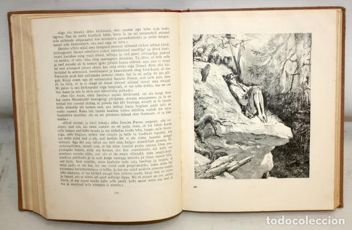 Libros de segunda mano: DON QUIJOTE DE LA MANCHA. ILUSTRADO POR G. DORÉ. PUBLICACIÓN NACIONAL ESTONIANA (1955). 2 VOLUMENES - Foto 7 - 205881788