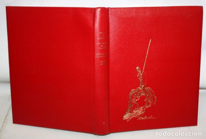 Libros de segunda mano: DON QUIJOTE D ELA MANCHA. ILUSTRADO POR SALVADOR DALÍ. EDITORIAL MATEU. 2 VOLUMENES. AÑO 1965 - Foto 3 - 205882402