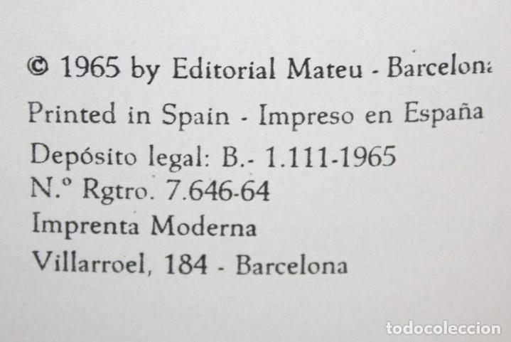 Libros de segunda mano: DON QUIJOTE D ELA MANCHA. ILUSTRADO POR SALVADOR DALÍ. EDITORIAL MATEU. 2 VOLUMENES. AÑO 1965 - Foto 5 - 205882402