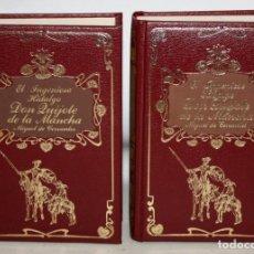 Libros de segunda mano: EL INGENIOSO HIDALGO DON QUIJOTE DE LA MANCHA. CERVANTES. ILUST. GUSTAVO DORE. ED. DALMAU SOCÍAS. Lote 205883106