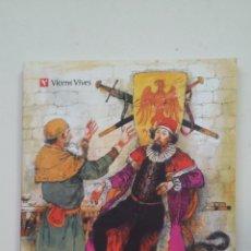 Libros de segunda mano: EL CONDE LUCANOR. DON JUAN MANUEL. CLASICOS ADAPTADOS VICENS VIVES Nº 11. TDK225. Lote 221525535