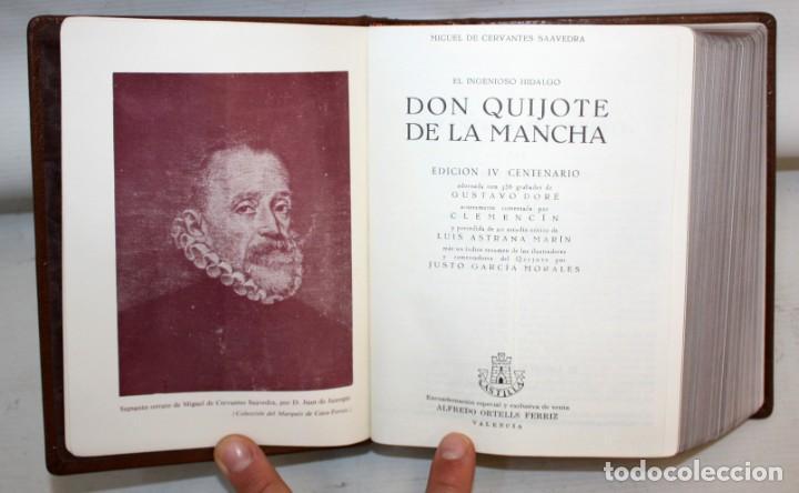 EL INGENIOSO HIDALGO DON QUIJOTE DE LA MANCHA. CERVANTES. ILUSTRADA POR GUSTAVO DORE. ED. CASTILLA (Libros de Segunda Mano (posteriores a 1936) - Literatura - Narrativa - Clásicos)