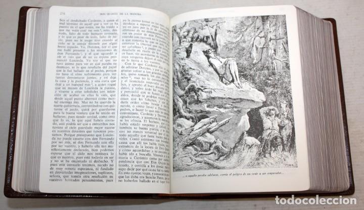 Libros de segunda mano: EL INGENIOSO HIDALGO DON QUIJOTE DE LA MANCHA. CERVANTES. ILUSTRADA POR GUSTAVO DORE. ED. CASTILLA - Foto 6 - 205902445