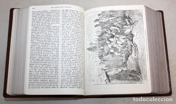 Libros de segunda mano: EL INGENIOSO HIDALGO DON QUIJOTE DE LA MANCHA. CERVANTES. ILUSTRADA POR GUSTAVO DORE. ED. CASTILLA - Foto 7 - 205902445