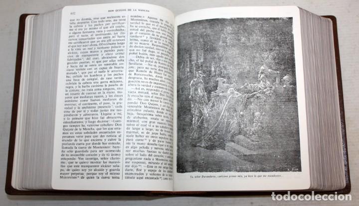 Libros de segunda mano: EL INGENIOSO HIDALGO DON QUIJOTE DE LA MANCHA. CERVANTES. ILUSTRADA POR GUSTAVO DORE. ED. CASTILLA - Foto 8 - 205902445