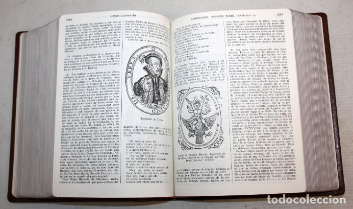 Libros de segunda mano: EL INGENIOSO HIDALGO DON QUIJOTE DE LA MANCHA. CERVANTES. ILUSTRADA POR GUSTAVO DORE. ED. CASTILLA - Foto 9 - 205902445