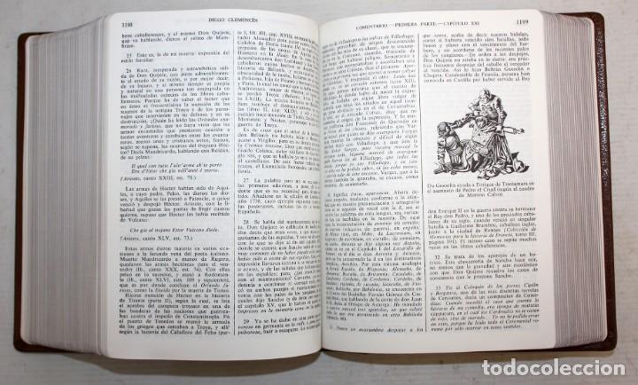Libros de segunda mano: EL INGENIOSO HIDALGO DON QUIJOTE DE LA MANCHA. CERVANTES. ILUSTRADA POR GUSTAVO DORE. ED. CASTILLA - Foto 10 - 205902445