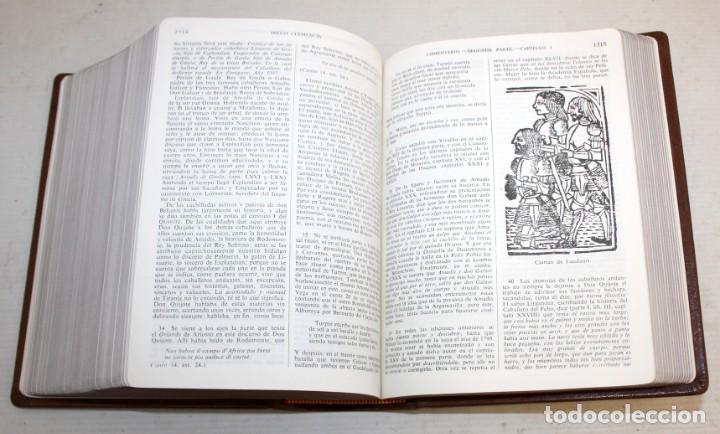 Libros de segunda mano: EL INGENIOSO HIDALGO DON QUIJOTE DE LA MANCHA. CERVANTES. ILUSTRADA POR GUSTAVO DORE. ED. CASTILLA - Foto 11 - 205902445