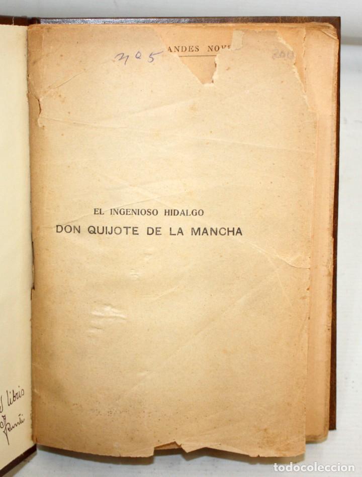 Libros de segunda mano: EL INGENIOSO HIDALGO DON QUIJOTE DE LA MANCHA. CERVANTES. CASA EDITORIAL SOPENA - Foto 5 - 206016823