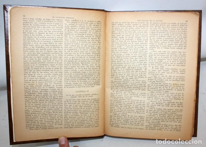 Libros de segunda mano: EL INGENIOSO HIDALGO DON QUIJOTE DE LA MANCHA. CERVANTES. CASA EDITORIAL SOPENA - Foto 6 - 206016823